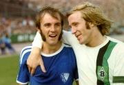 1971-72 VfL-Gladbach Hartl und Netzer