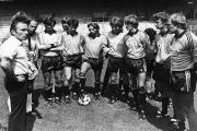 1981/82 Schafstalls 1. Training