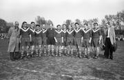 Saison 1952/53 Mannschaftsbild Meister der 2. Liga West