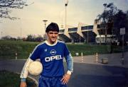 1988 Jupp Nehl vor der alten Haupttribüne