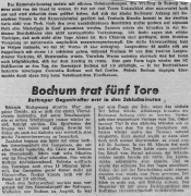 1949/50 - 2.Liga West 2 - VfB Bottrop - VfL Bochum 1-4