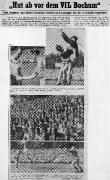 1953/54 Oberliga West 1. Spieltag Schalke 04 - VfL Bochum 1-0