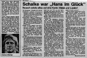 1977/78 VfL Bochum - Schalke 04 1-2