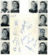 1960/61 VfL Bochum Autogramme