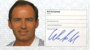 1982/83 Scheckheft Rolf Schafstall