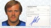 1982/83 Scheckheft Hermann Gerland