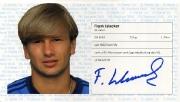 1982/83 Scheckheft Frank Islacker