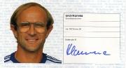 1982/83 Scheckheft Erich Klamma