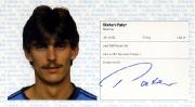 1982/83 Scheckheft Stefan Pater