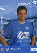 2002/03 mit DWS Thomas Reis