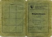 1946 VfL Mitgliedsausweis Renzewitz
