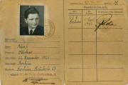 1947 Spielerpass Ottokar Wüst