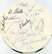 1968 Menü zum Pokalendspiel 3