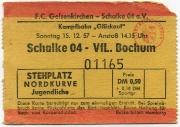1957/58 Schalke 04 - VfL Bochum