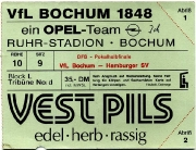 1987/88 Hamburger SV Pokalhalbfinale