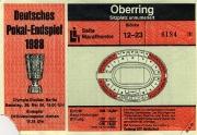 1987/88 E. Frankfurt Pokalfinale
