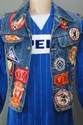1977 - 82 Kutte Fan-Club Bochumer Freunde