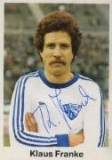 1976/77 Klaus Franke