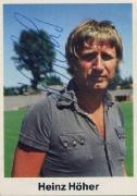 1976/77 Heinz Höher