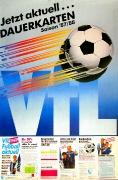 1987/88 Dauerkarten Werbung