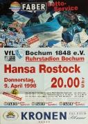 1997/98 Hansa Rostock